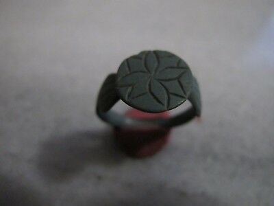 Antique Late  Medieval   Bronze ring