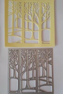 Tree Frame Craft Metal cutting die Suitable For Sizzix Cuttlebug Machine