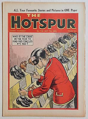 THE HOTSPUR #726 - 7th October 1950