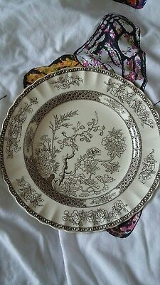 Antique rare Copeland Spode India Tree pattern plate. 26.5 cm diameter.