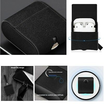 Nillkin PU Leather Qi Wireless Charging Case Cover Box For iPhone X XS AirPods