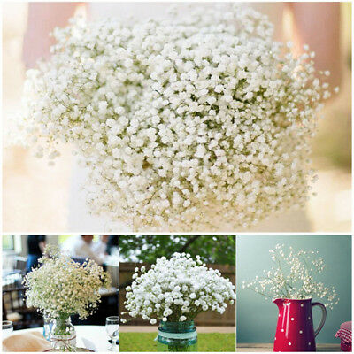 Artificial Fake Silk Gypsophila Baby Breath Flower Christmas Home Wedding Decor