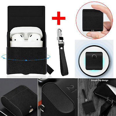 Qi Wireless Charger Receiver Protective Charging Cover Case For Apple Airpods