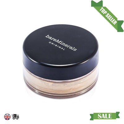 NEW Bare Minerals Original Foundation SPF 15 8g -MEDIUM -FREE POST UK