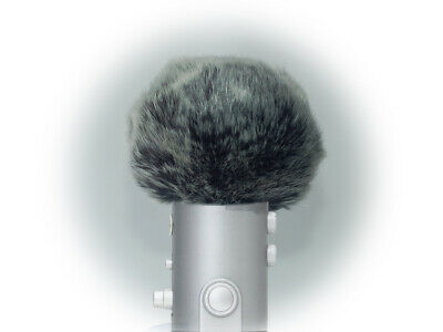 Furry Windscreen for Blue Microphones Yeti Professional USB Condenser Microphone