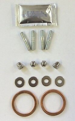 Honda CB500 1994-2003 Exhaust Copper Gaskets Studs Washers Nuts Grease Set