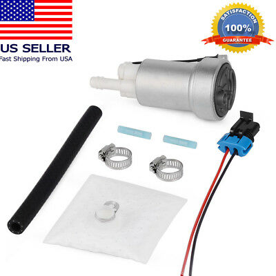 750HP+ 450LPH High Performance Fuel Pump & Install Kit Fit For E85 F90000267 US