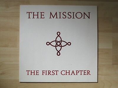 """THE  MISSION - The First Chapter * LP 1986 * Mercury 832527-1 * Vinyl 12"""" * TOP"""