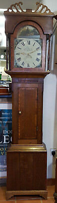 Antique Grandfather Clock Mich Johnson of Barnard Castle - Delivery arranged