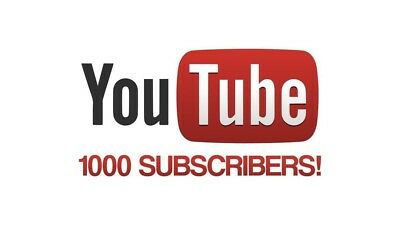 Youtube Subs +1000 Real Youtube subscibers Channel Promotion High Quality HQ