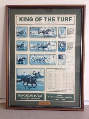 Kingston Town Cox Plate Print Framed The King Of The Turf