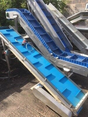 incline food conveyor