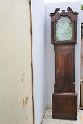 moon roller eight day grandfather clock for restorations