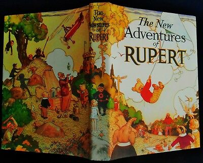 MINT 1936 Limited Edition RUPERT BEAR FACSIMLIE ANNUAL with DUST COVER