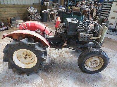 Compact Tractor & Topper. Spares or Repair