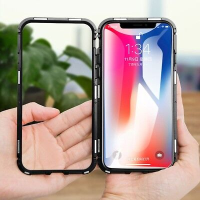 iPhone XS MAX Case Metal Luxury Thin Slim Shockproof Cover For Apple Phone