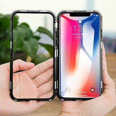 iPhone XS MAX XR Case Metal Luxury Thin Slim Shockproof Cover For Apple Phone