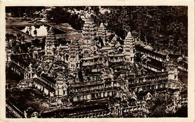 CPA Angkor Wat- Le Temple. Le Massif Central. CAMBODGE Indochine (714948)