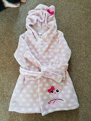 Girls Dressing Gown Aged 12-18 Months