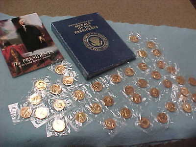 United States Mint MEDALS OF THE PRESIDENTS  40 COINS SET  Washington-Reagan NEW