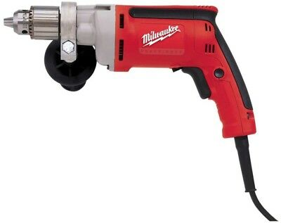 Corded Powerful Magnum Drill Driver Reverse Keyed Chuck Clamshell 850 RPM 8-Amp