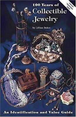 100 Years of Collectible Jewelry by Lillian Baker (1978, UK-Paperback, Illust)
