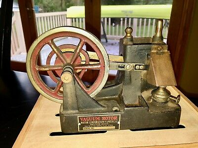 Dayton Flame Licker Model Engine Hit Miss Cast Iron Toy Old Antique Hot Air