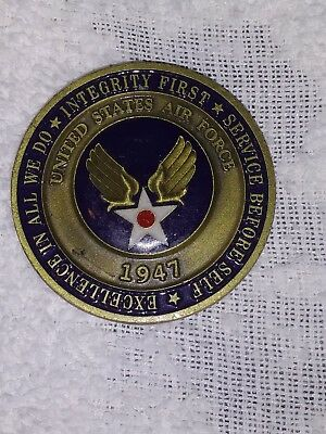 * U.s.a.f. Becoming A Airman * Challenge Coin
