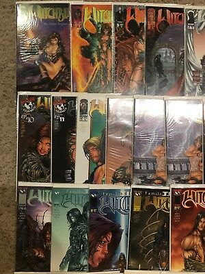 Lot Of 50 Top Cow Witchblade Comic Books