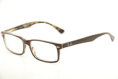 52f813facf New Authentic Ray Ban RB 5162 2363 Brown Havana 52mm Frames Eyeglasses RX