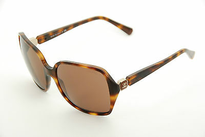 5474e0b3f0 New Authentic Chanel 5284 c.1425 S7 Tortoise Brown 59mm 3N Sunglasses Italy