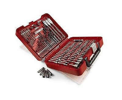 Craftsman 100-pc Accessory Kit Set Drill Bit Driver Screw Tools Case AWESOME !!!