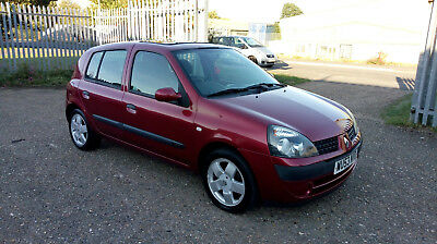 2003 Renault Clio Expression 1.2 16V 5 Door