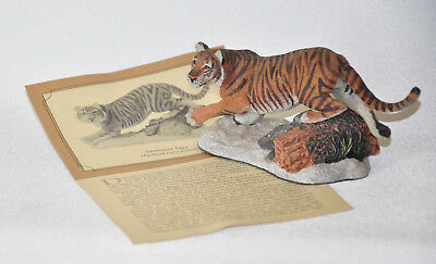 1989 The Franklin Mint Great Cats of the World sibirischer Tiger