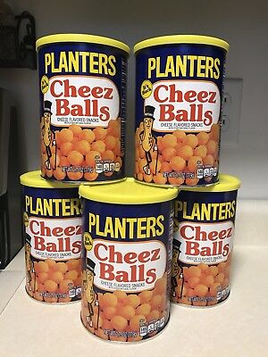Planters Cheez Balls LOT OF 5 2.75oz Cheese Balls 2018 Release IN HAND FAST SHIP