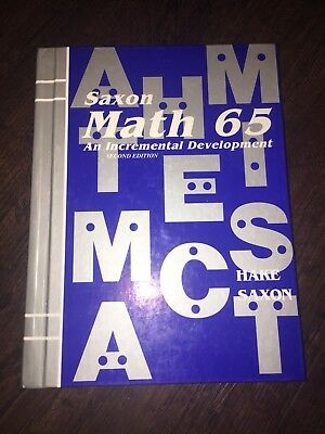 Saxon math course 1 by stephen hake 2007 hardcover student math 65 2nd estudent edition saxon math 65 by stephen hake fandeluxe Image collections