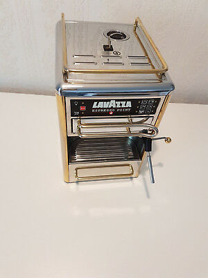 Lavazza Espresso Point Maschine Chrom Gold