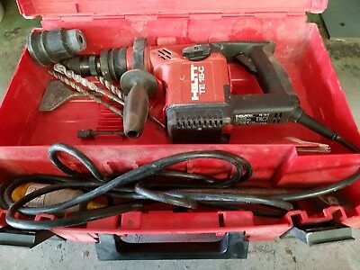 Hilti TE 15-c Hammer Drill/Chipping Hammer 110v with separate sds chuck