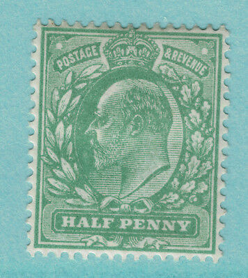 Great Britain Scott #146, Mint Hinge Remnant - Half Penny King Edward VII Issue