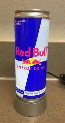 RED BULL Energy Drink Illuminated Can 6 1/4 x 2, Brand New in box
