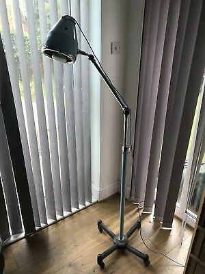 vintage retro angle poise floor lamp. Industrial,Hospital / Dental / theatre