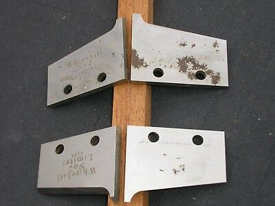 SPINDLE MOULDING TOOLING  WHITE HILL CUTTERS 1 set of cutters/limiters 9 degrees