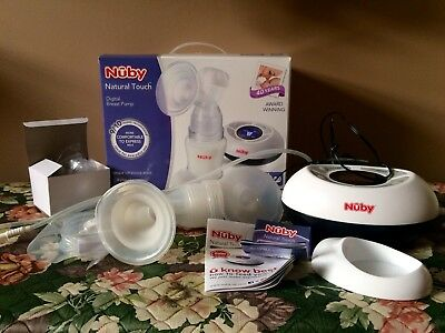 Nûby Natural Touch Digital Electric Breast Pump
