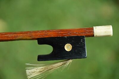 Old French Violin Bow, IVOR button, good condition