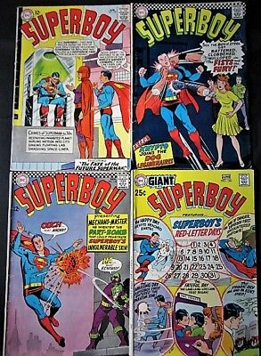 DC Comics Lot- Superboy, Giant Superboy