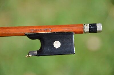 Old French Violin Bow, signed N.MAIRE, good condition