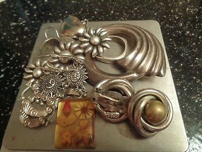 Sterling Silver Scrap or Not Lot of mixed jewelry Pieces !!!!