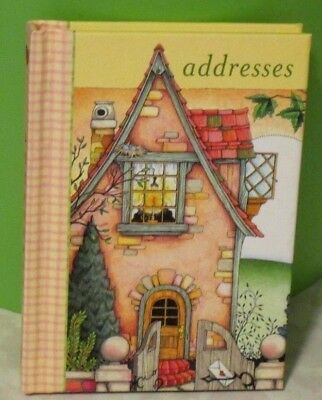 Vintage - Retired -Mary Engelbreit Home Address Book - Free Shipping