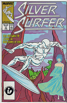 SILVER SURFER LOT (6) Capt MarvelFantasy Masterpieces Marvel 1980-90 VF Warlock