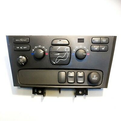 Volvo V70/s60 00-07 Heater Climate Control Switch Panel Unit